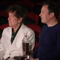 Watch Jimmy Fallon and Bob Dylan Drink at the Circus