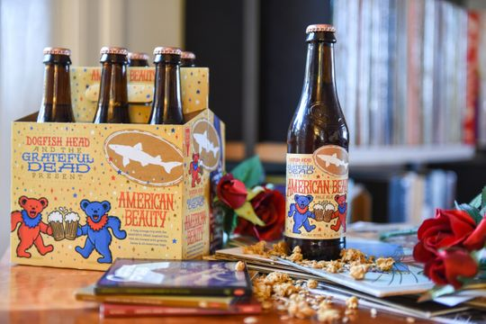 "Dogfish Head Brewery Will Revive Grateful Dead-Inspired ""American Beauty"" Pale Ale"